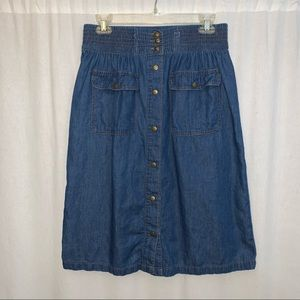 Life in progress Women's Denim Skirt Size Medium